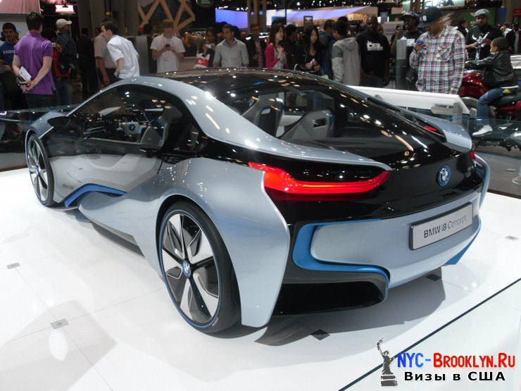 91. Автошоу в Нью-Йорке 2012. New York Auto Show - NYC-Brooklyn