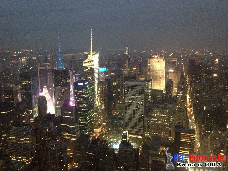 94. Фотоотчет Эмпайр Стейт Билдинг, Нью-Йорк, Empire State Building, New York - NYC-Brooklyn